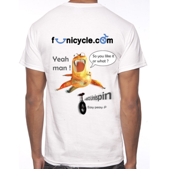 Tee-shirt de Monociclo Funicycle 2012 - So you like it or what ?