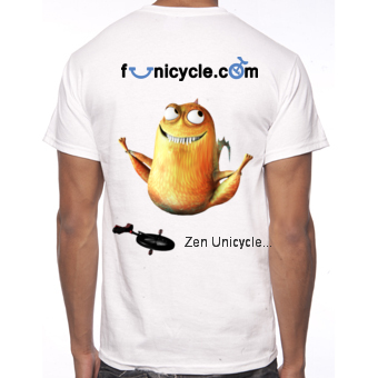 Tee-shirt de Monociclo Funicycle 2012 - Zen Unicycle...