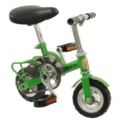 "Mini Clown Payaso Circo Bici 6"" Verde - Adultos y aprendiz payaso Circo"