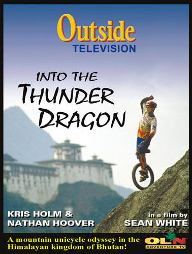 Into The Thunder Dragon DVD de monociclo - con Kris Holm